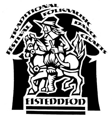 Eisteddfod Logo from SMU/UMass Dartmouth music and arts festival (http://www.lib.umassd.edu/archives/htga/smuumd-eisteddfod)