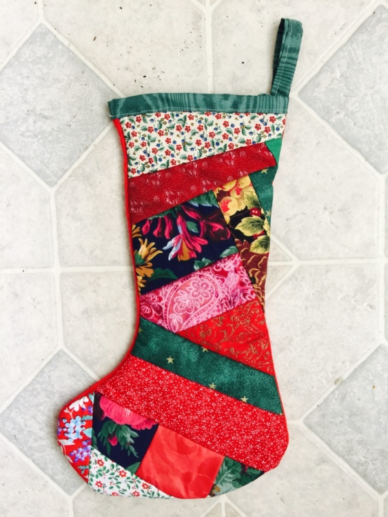 Christmas stocking by Sally Eklund