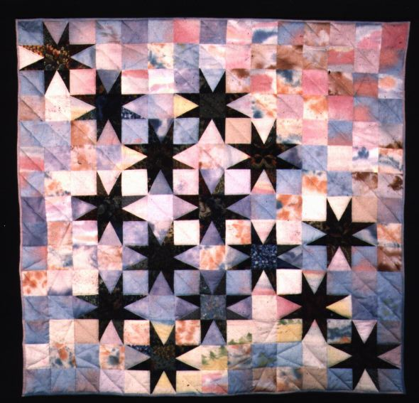 """Myth,"" a quilt by Sally Eklund"