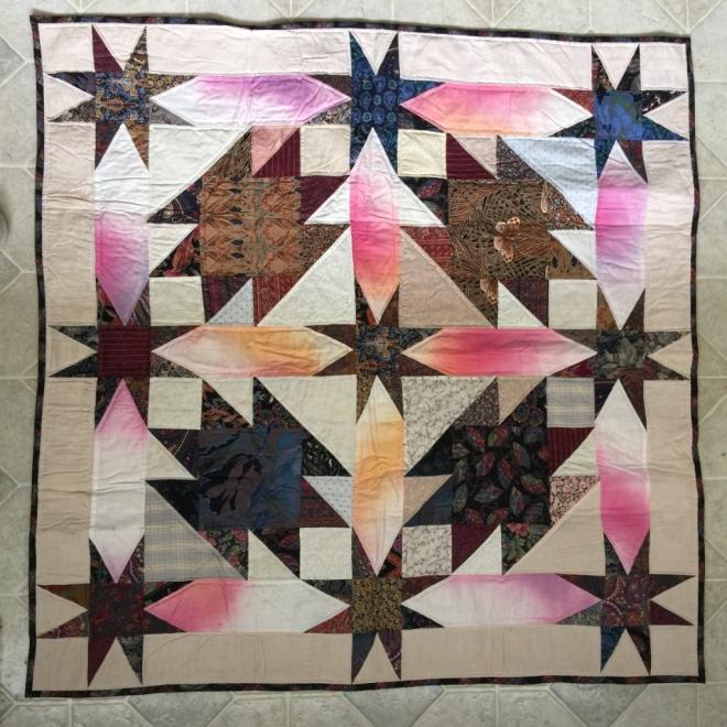 Stars quilt by Sally Eklund