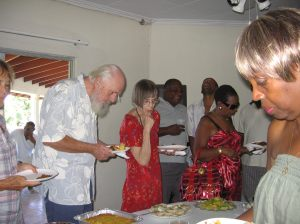 at a birthday party at the Baldwin residence in the 2010s