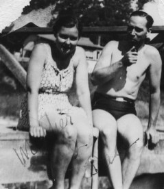 parents Bernice and George in the summer of 1941