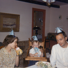 birthday party in 1966