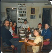 family meal around 1977