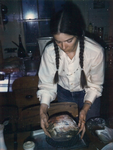 in the kitchen sometime around the 1980s