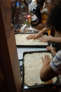 making pizza from scratch in 2008