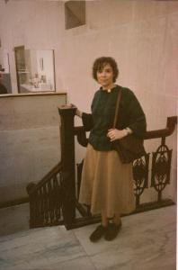 Sally in the 1970s or 1980s
