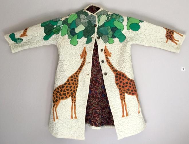 023 Giraffe jacket - front